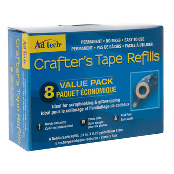 Permanent Crafter's Tape Refill Value Pack