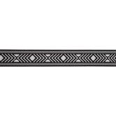 Black & White Geometric Belting Trim