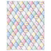 "Decorative Eggs Scrapbook Paper - 8 1/2"" x 11"""