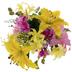 Pink & Yellow Lily Bush