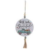 A Grateful Heart Tassel Ornament