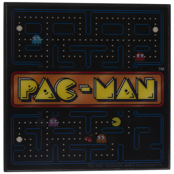 Pac-Man Lenticular Wood Decor