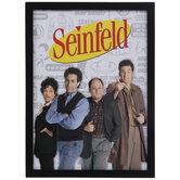 Seinfeld Cast Wood Wall Decor