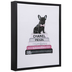 Chanel French Bulldog Canvas Wall Decor