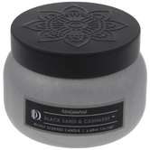 Black Sand & Cashmere Candle Tin
