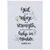 Psalm 46:1 Canvas Wall Decor