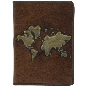 Embossed Atlas Leather Sketchbook