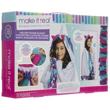 Unicorn Hoodie Blanket Kit