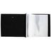 Black Cloth Post Bound Scrapbook Album - 12
