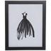 Black Dress Framed Wall Decor
