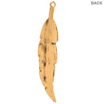 Feather Rhinestone Pendant