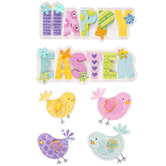 Easter Chicks 3D Stickers