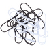 Black & White Large Paper Clips