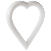 CraftFoM Foam Heart - 12""