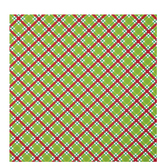 Red, Green & White Plaid Gift Wrap