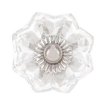 Scalloped Glass Knob