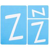 Fun Font Monogram Adhesive Stencils - Z