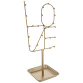 Gold Love Word Metal Jewelry Holder