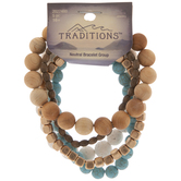 Neutral Beaded Bracelets