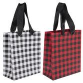 Buffalo Check Gift Bags