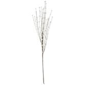 White Field Flower Starburst Spray