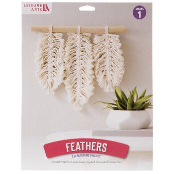 Feathers Macrame Kit