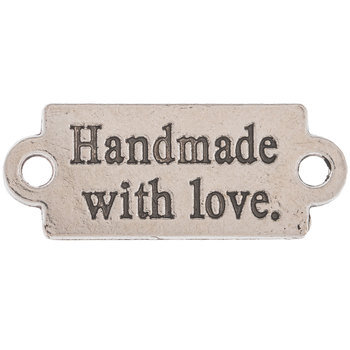 Nickel Handmade With Love Labels