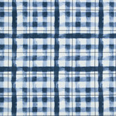 Painterly Plaid Duck Cloth Fabric