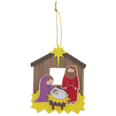 Nativity Ornaments Foam Craft Kit