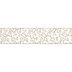 Gold Glitter Swirl Wired Edge Sheer Ribbon - 2 1/2
