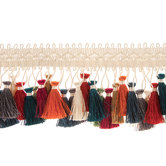 Multi-Color Tassel Trim
