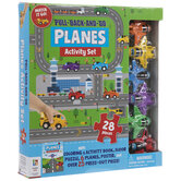 Pull-Back-And-Go Planes Activity Kit