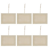 Wood Frames With Hangers