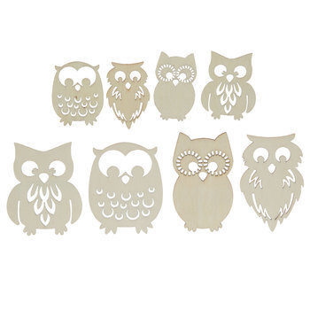 Owl Wood Shapes