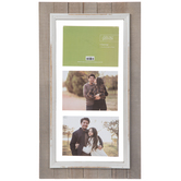 Rustic Float Collage Wood Wall Frame