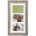 Gray Rustic Float Collage Wood Wall Frame