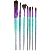 Mermaid Paint Brushes - 7 Piece Set