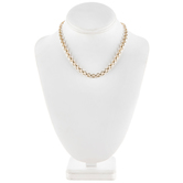 """Large Link Chain Necklace - 16"""""""