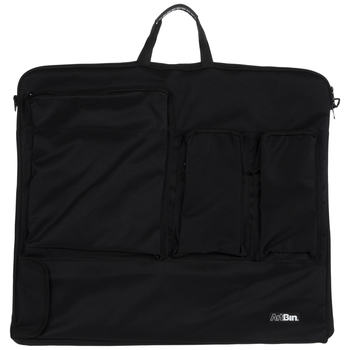 Black Folio Tote Bag