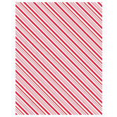 """Candy Cane Striped Scrapbook Paper - 8 1/2"""" x 11"""""""