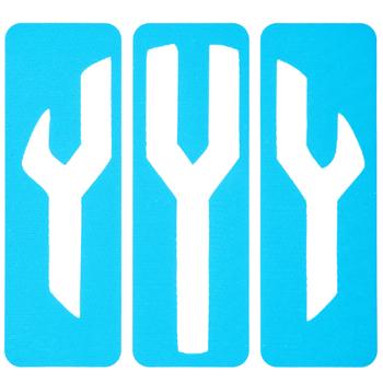 Circular Monogram Screen Stencils - Y