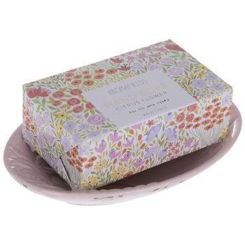 Citrus Flower Hand Soap & Dish