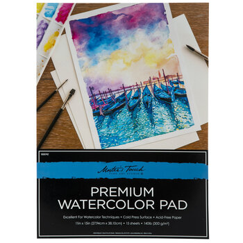 Premium Watercolor Paper Pad