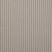 Ivory Linen Striped Cotton Calico Fabric