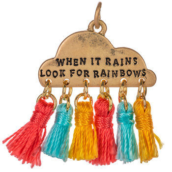 When It Rains Cloud Pendant