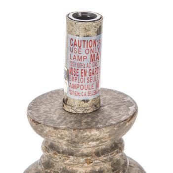 Petite Distressed Lamp