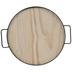Round Wood Tray
