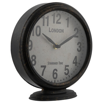 Bronze London Metal Clock