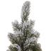 Glitter Flocked Christmas Tree - 16
