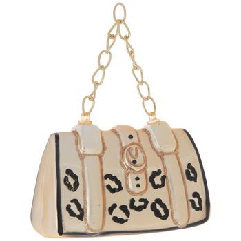 Leopard Print Handbag Ornament